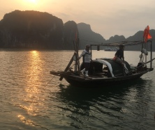 Fishing on Ha Long Bay