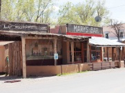 Old fashioned bar in Cerillos