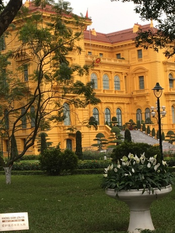 """Original """"home"""" of Ho Chi Minh ..he moved to a more modest place after 2 mknths"""