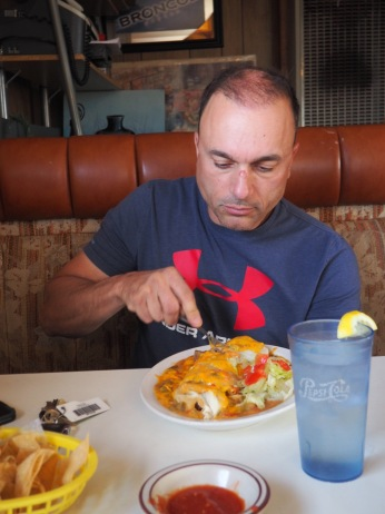 Hmmm...not John's favorite meal
