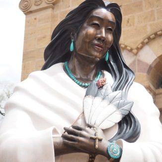 First North American Indian to become a saint