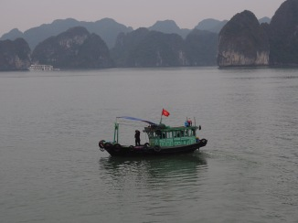 Fishing boat, Halong Bay