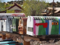 Colourful Mailboxes, Madrid