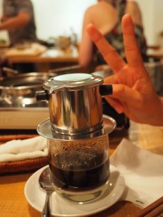 And, of course....Vietnamese coffee with milk