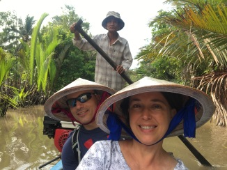 Quiet of Mekong delta