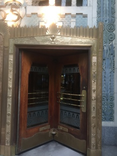 Door on maritime building