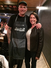 Celebrity moment - Chef Chuck Hughes