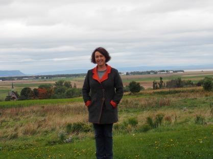 Grand Pre Historical Site landscape- on wine tour