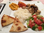 Turkish meal at Lemon Tree
