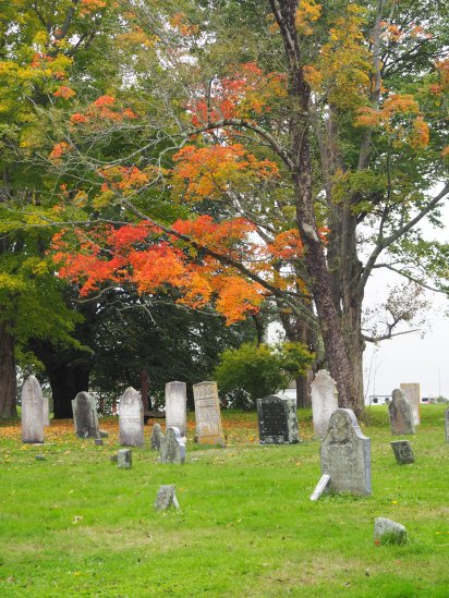 Old Burying Ground Fort Anne