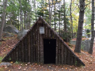 Replica of a pit house