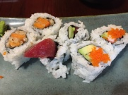 Sushi at Doro's