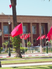 Morrocan flags